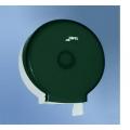 Диспенсер Jofel Azur д/рулонной туалет. бумаги, 1 рулон 300 м, втулка Ø 45 мм, прозрач. дымчытый SAN-пластик/белый ABS-пластик  АртикулAE52400 Материал корпусапрозрач.дымчатый SAN-пластик/белый ABS-пластик Расходный материалрулон наружной подачи Диаметр посадочной втулки, мм45 Определение уровня запаса расходного материала черезпрозрачный корпус Наличие ключаесть Вместимость1 рулон 300 м с габаритом не более Ø 220 Габаритные размеры изделия, ммØ270 x 126 Вес brutto ед. товара, кг0,7