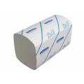 Сложенные бумажные полотенца подаются по одному листу, что гарантирует касание только одним пользователем, обеспечивают быструю и гигиеничную сушку рук, помогают снизить затраты и сократить объем отходов.