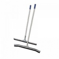 Сгон изогнутый  для пола с ручкой, 75 см, сталь. Насухо удаляет воду и моющий раствор.
