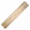 Черенок подходит для тяпок, грабель Прочный и долговечный Изготовлен из дерева - бук Длина - 130 см, диаметр - 3 см