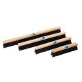 Щетка для подметания с металическим держателем из дерева  предназначена для уборки мусора на улице или на складе. Размер деревянного корпуса 40х5,3см Пятирядный полимерный ворс ,износостойкий, высота ворса 8 см