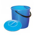 Материал - пластик Объем - 10 литров С крышкой