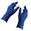 Прочные латексные перчатки Не скользкие. Текстурированная поверхность пальцев и ладони, улучшает сцепление. Защитные. Оберегают руки от любой бытовой химии. Дополнительная защита. Удлиненная манжета, защищает руки от загрязнений. Очень прочные. Не рвутся при сильном растяжении. Универсальные. Без талька.