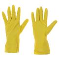 Перчатки латексные с хлопковым напылением. Устойчивы к истиранию, проколам и порезам. Хорошо облегают руку. Имеют повышенную механическую прочность. Защищают руки от моющих средств, воды, вредных растворов химических веществ. Перчатки легко одеваются и легко снимаются. Хлопковое напыление предотвращает появление раздражения на коже рук. Комфорт во время работы.