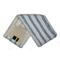 Плоский МОП прошитый с внутренними карманами из микрофибры c жестким абразивом. Предназначен для влажной уборки помещений в течение дня.  Обладает большой впитывающей способностью.