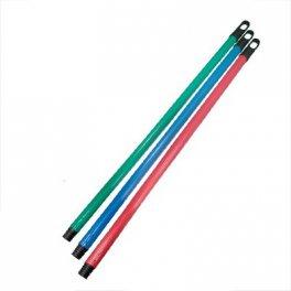 Черенок для щеток Материал: пластик Длина: 108см Цвет: в ассортименте