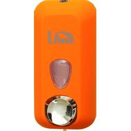 Lime:Диспенсер для заливного жидкого мыла оранж.,1л