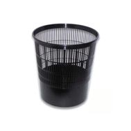 Пластиковая корзина для бумаг. Объем 18 литров. Размеры:295х215х330 мм.