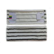 Плоский МОП прошитый с внутренними карманами из микрофибры c жестким абразивом. Предназначен для влажной уборки помещений в течение дня.  Обладает большой впитывающей способностью. Используется с флаундером арт: NPK196, NP192