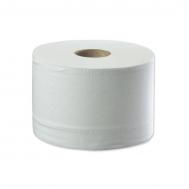 297492 Tork SmartOne® туалетная бумага в мини рулонах c центральной вытяжкой. Мягкая, двухслойная с перфорацией и съёмной втулкой. Цвет: белый. 2 слоя. 620 листов. Лист: 18x13,4 см. 12 рул/уп.